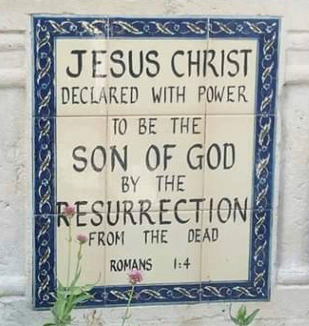 JESUS CHRIST - Word of GOD banner