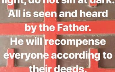 Prophetic Word 15th of Feb 2019 Love LORD Jesus