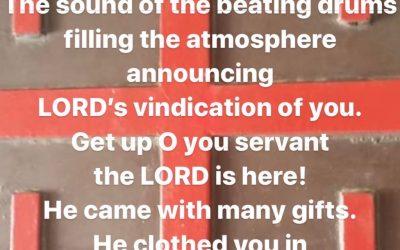 JESUS is LORD Prophetic Word 1st of Nov 2019 Love LORD Jesus
