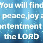 23rd November 2019 Prophetic Word Love LORD Jesus Christ
